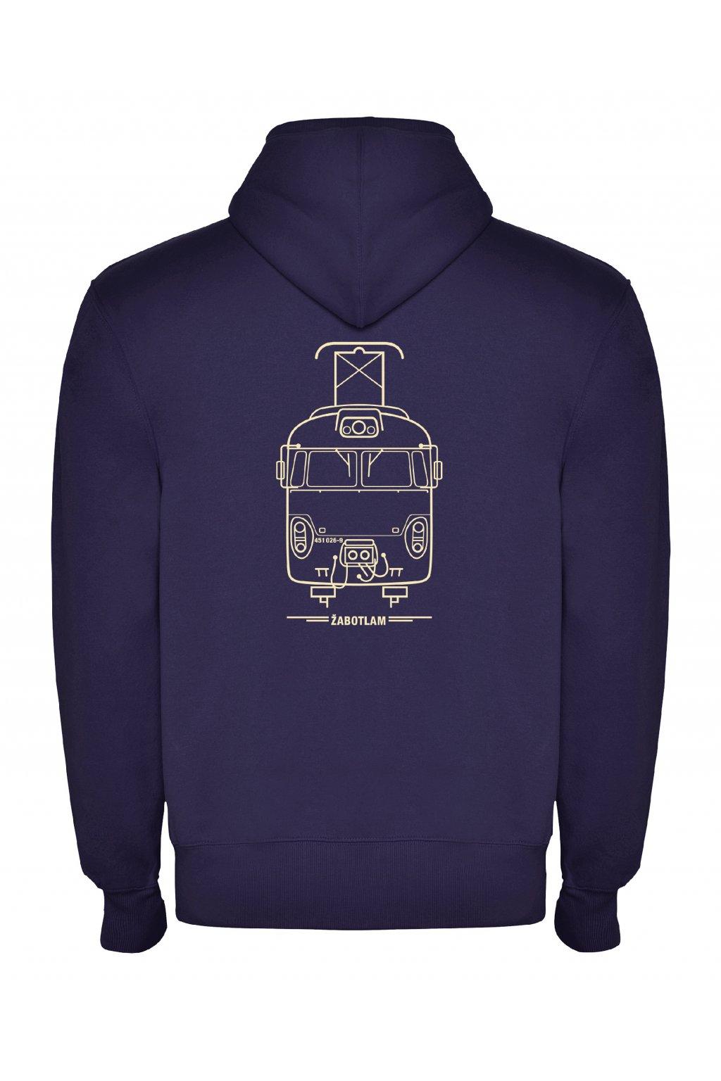 Men's zip hoodie Locomotif ŽABOTLAM