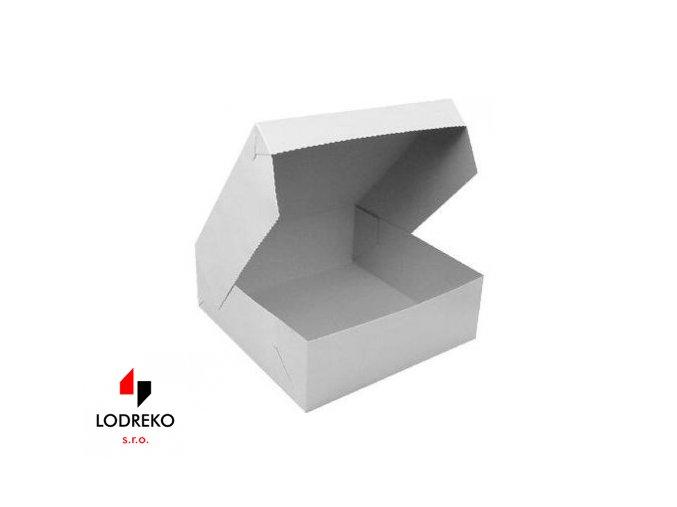 Dortová krabice 180 x 180 x 90 (50 ks)