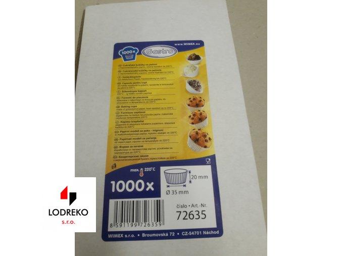 Cukrářské košíčky 35 (1000ks)