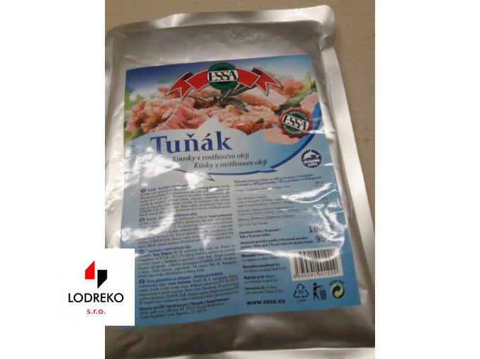 Tuňák kousky v oleji (1 kg)