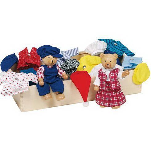 oblékací panenky a panáčci