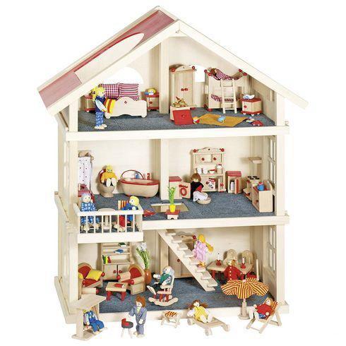 Domečky a panenky