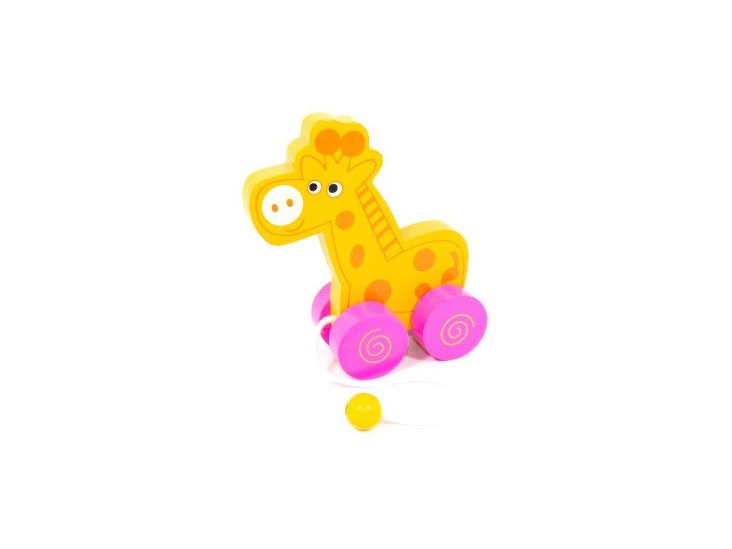 Žirafa na kolečkách (doprodej)