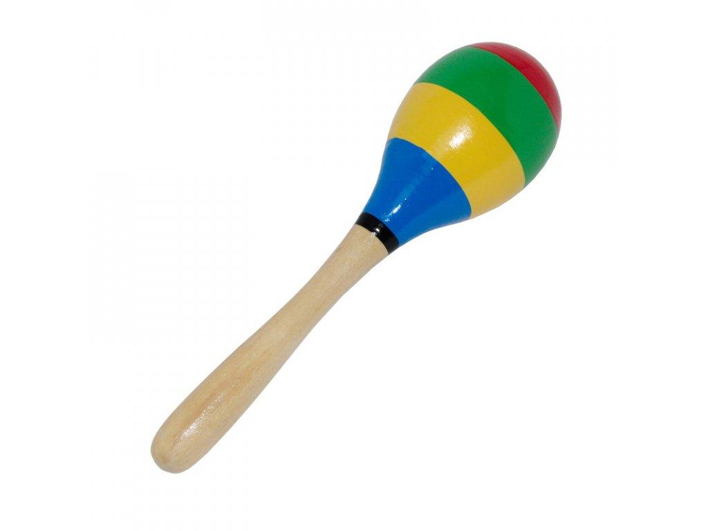 Velká umbakoule pruhovaná barevná 10485
