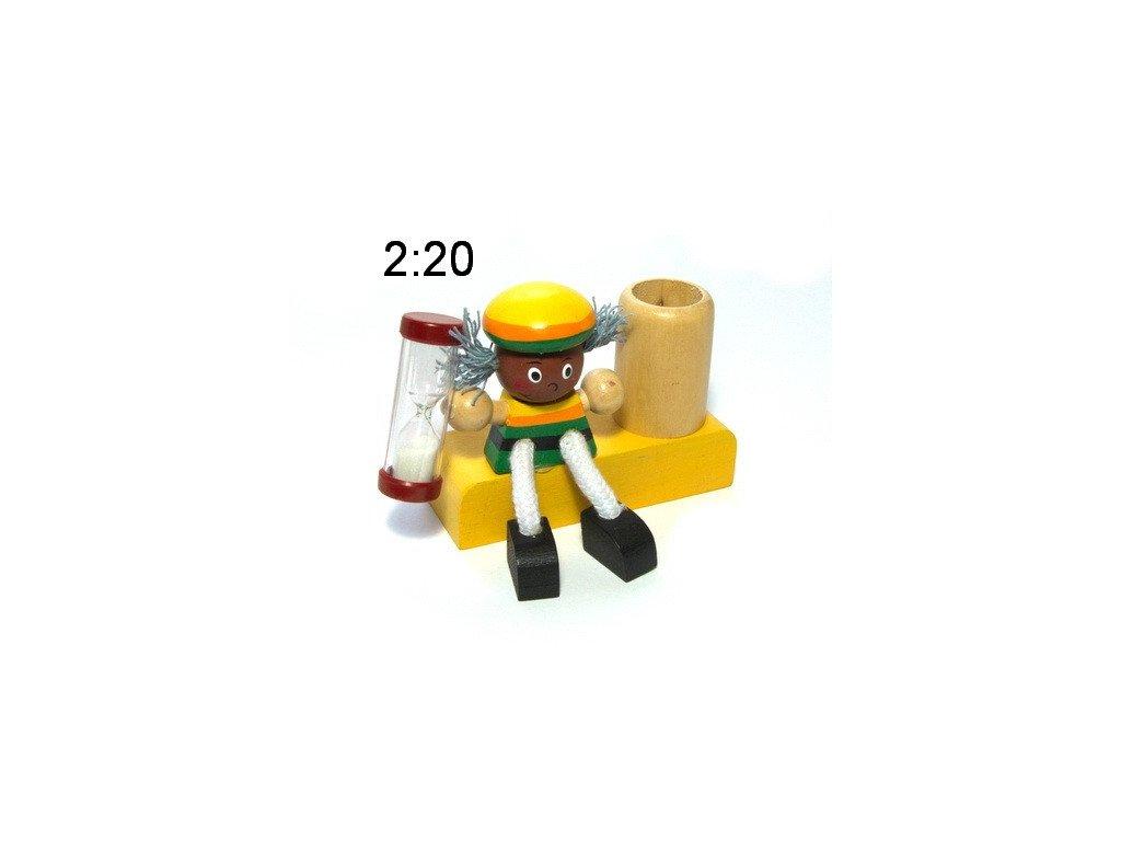 Jamaika 1 - dřevěný stojánek na kartáček (doprodej)