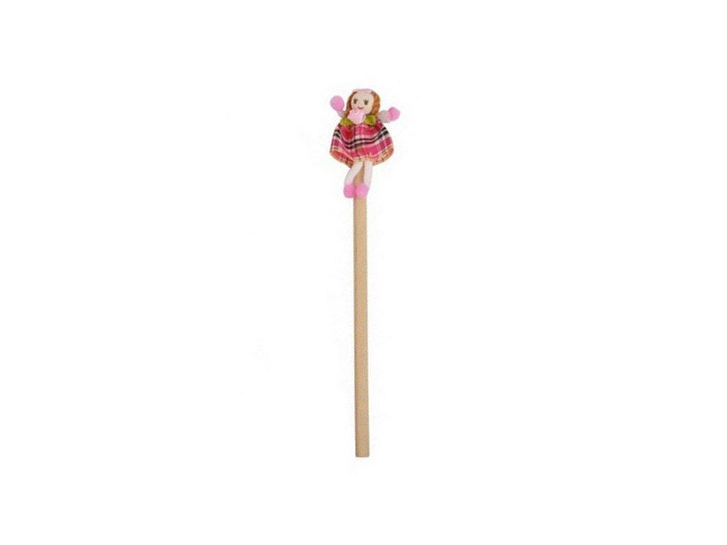 Tužka Květinová dívka - růžová (doprodej)