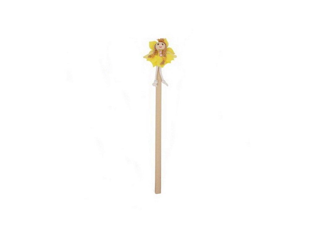 Tužka Květinová víla - žlutá (doprodej)