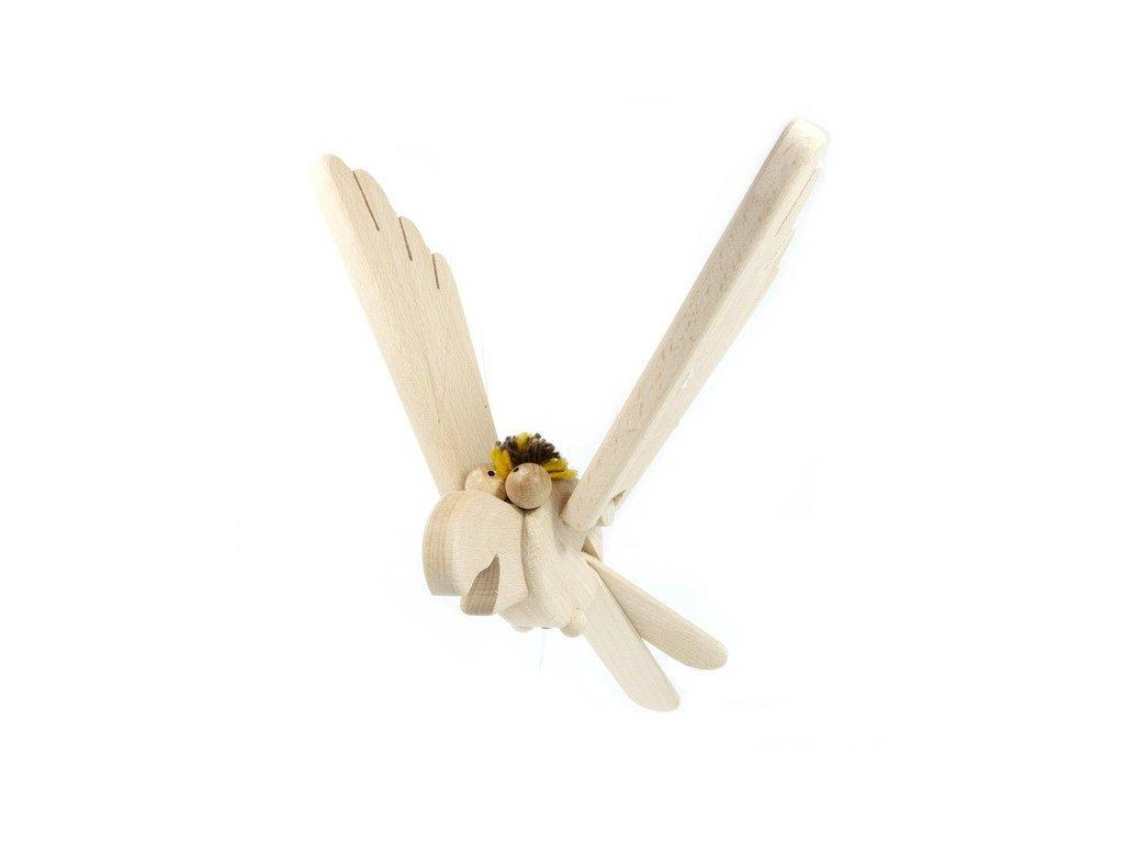 Létací papoušek vykulený - přírodní