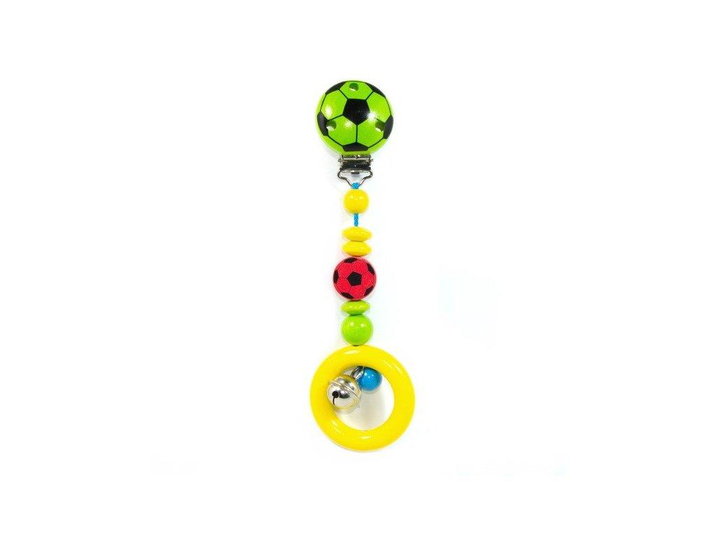 Klip Zelený fotbal - závěsná hračka