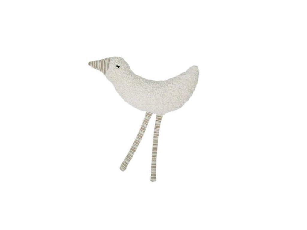 Přírodní ptáček BIO bavlna – chrastítko