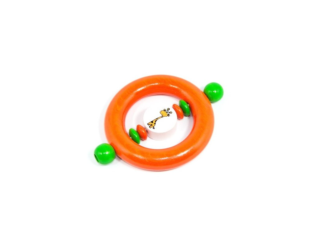 Oranžový kroužek - žirafa
