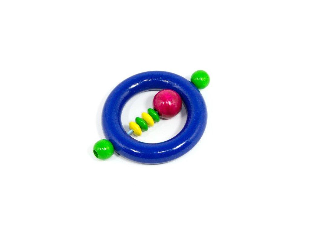 Kroužek pro miminka - tmavě modrý