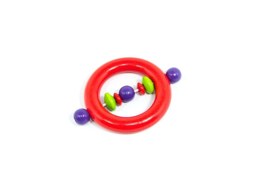 Kroužek pro miminka  - oranžový