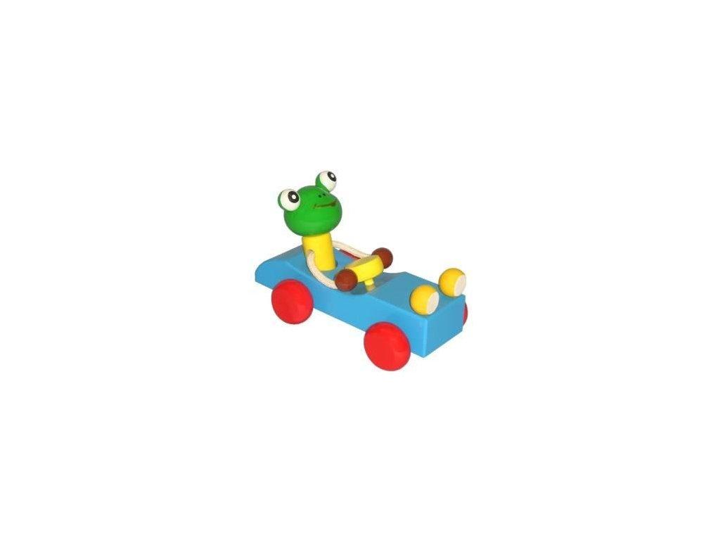 Žába v autě - tahací hračka