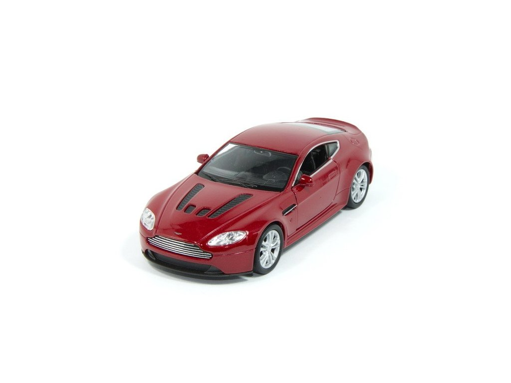 Aston Martin V12 Vantage - 1:38, barva vínová