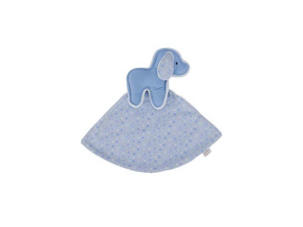 Pejsek – modrý mazlíček usínáček