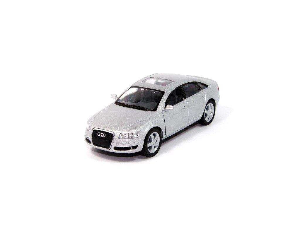 Audi A6 stříbrné - 1:38