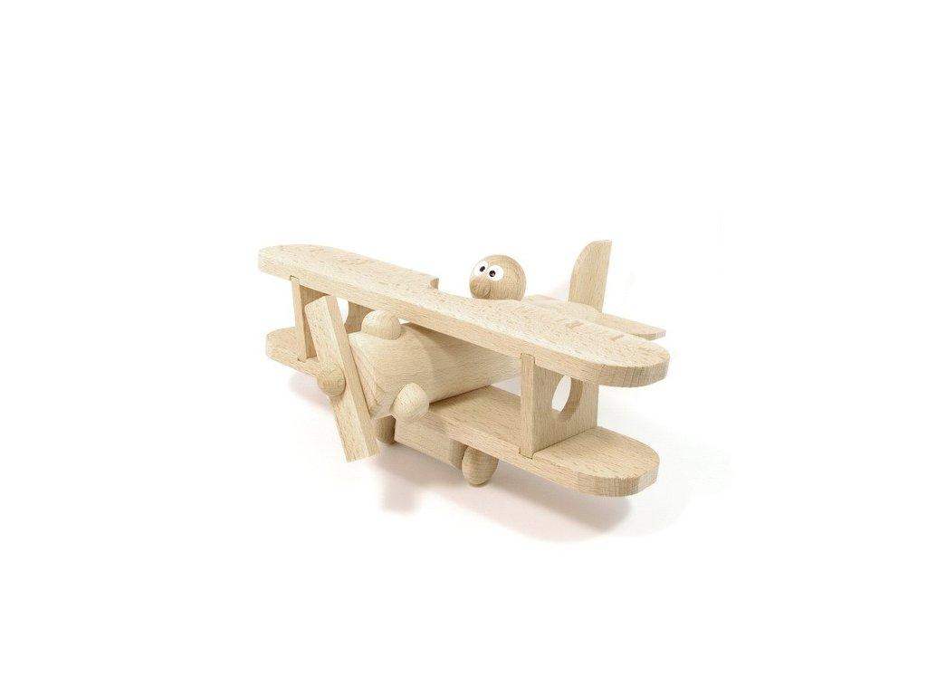 Dřevěné letadlo - přírodní