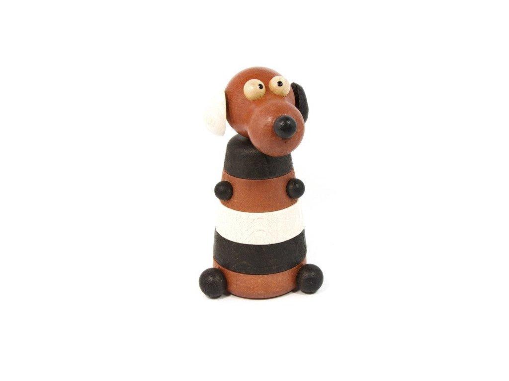 Dřevěná skládačka - Pes
