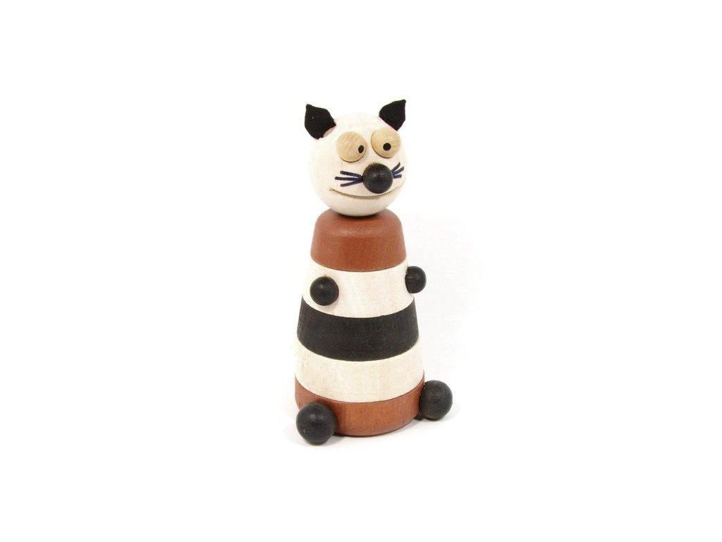 Dřevěná skládačka - Kočka