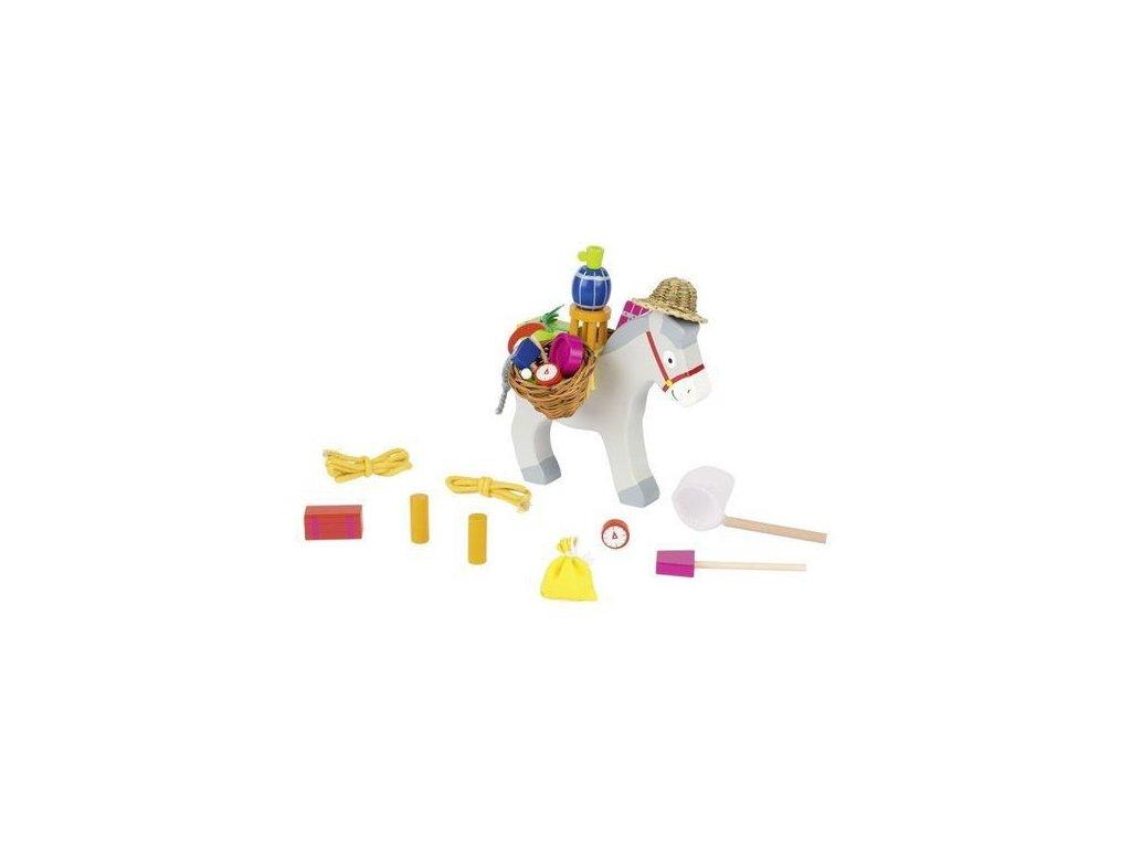 Balanční hra – Oslík, 27 dílů