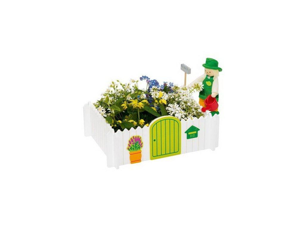 Goki Panenka zahradník + zahrádka