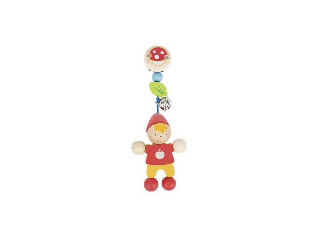 Trpaslíček – hračka s klipem