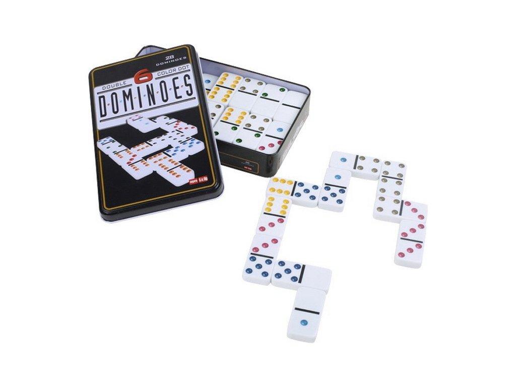 Domino 6 barev