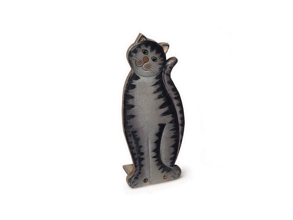 Dveřní zarážka Kočka - mourovatá