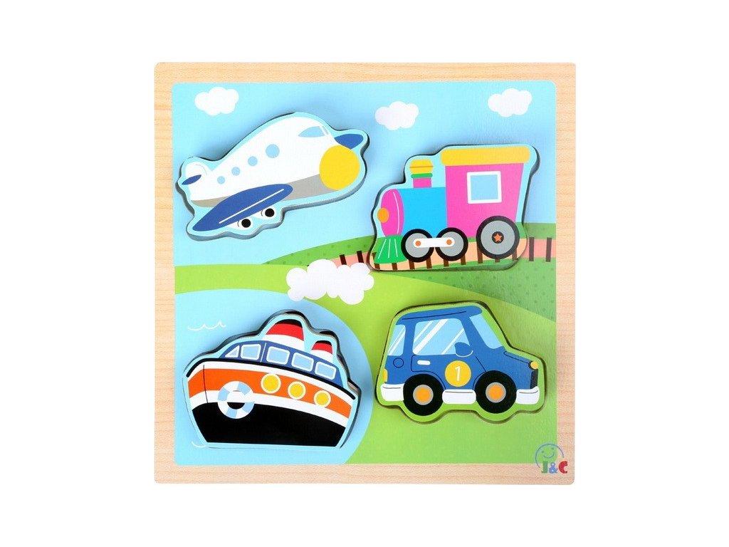 Puzzle Dopravní vozidla