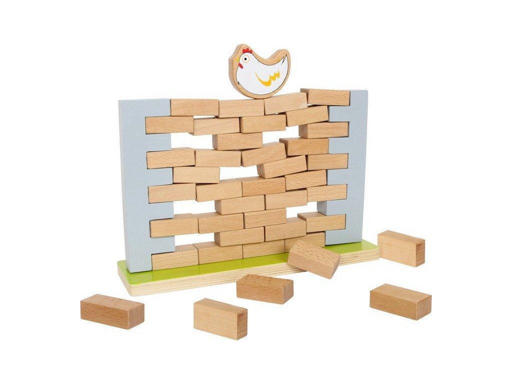 Balanční zeď se slepičkou