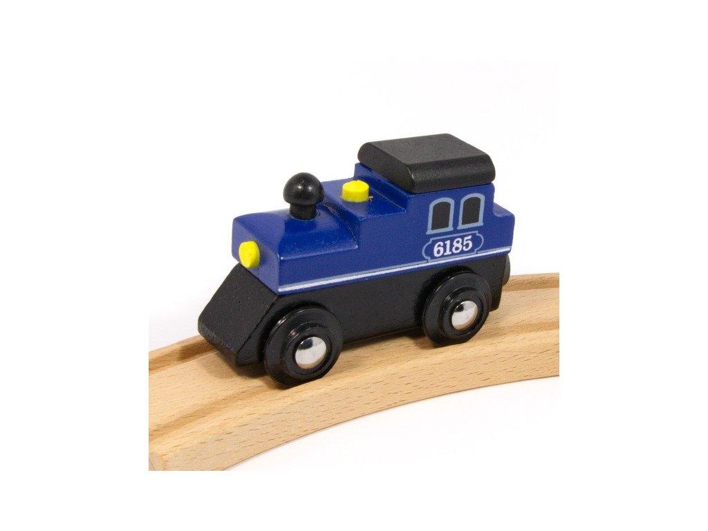 Lokomotiva velká modrá - magnetická