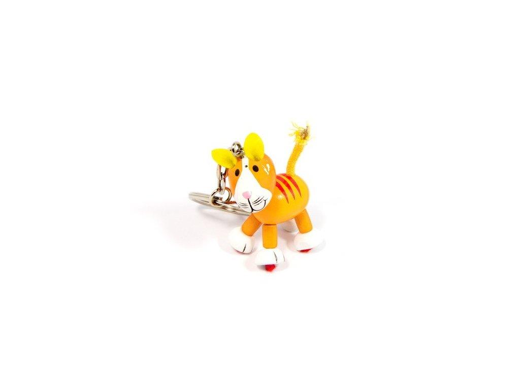 Přívěsek na klíček - Tygřík
