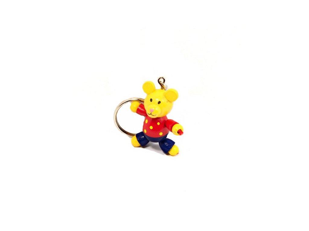 Přívěsek na klíček - Medvídek