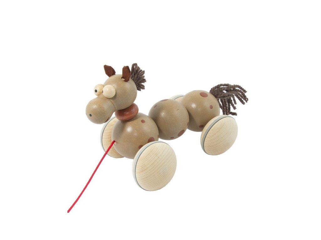 Dřevěný tahací kůň