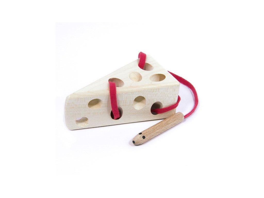 Myš v sýru - provlékací