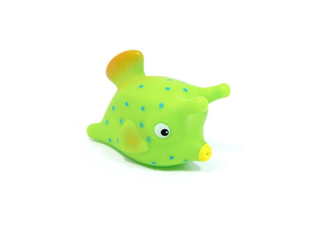 Mořské rybky do vody - zelená rybka