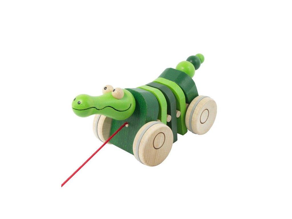 Tahací krokodýl - klapací