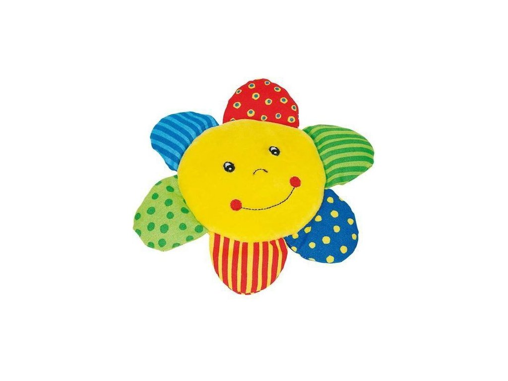 Dětská látková hračka sluníčko pro batolata