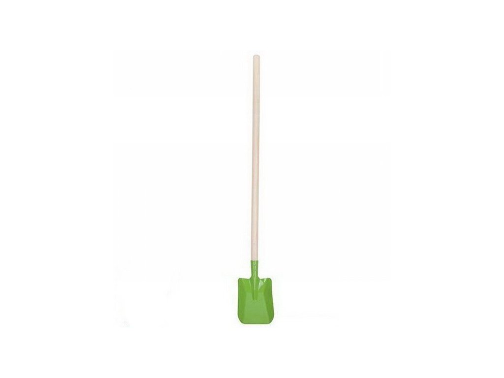 Goki Kovová lopata dlouhá - zelená