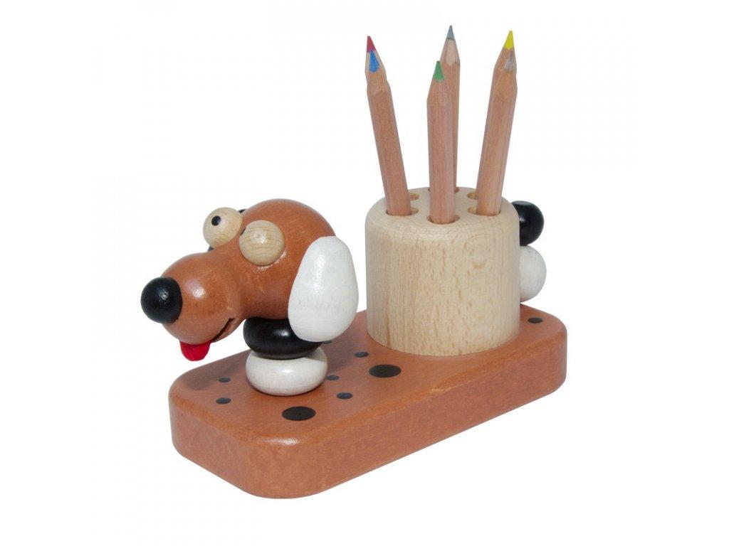 tužkovník pes hnědý