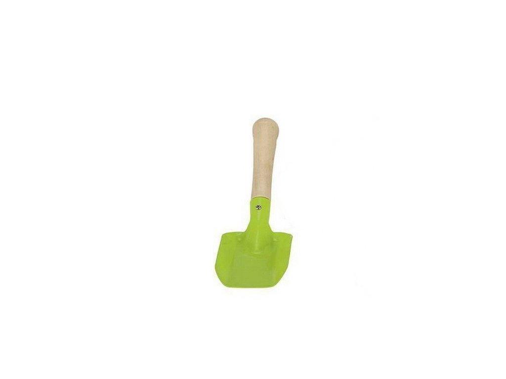 Kovová lopatka malá - zelená