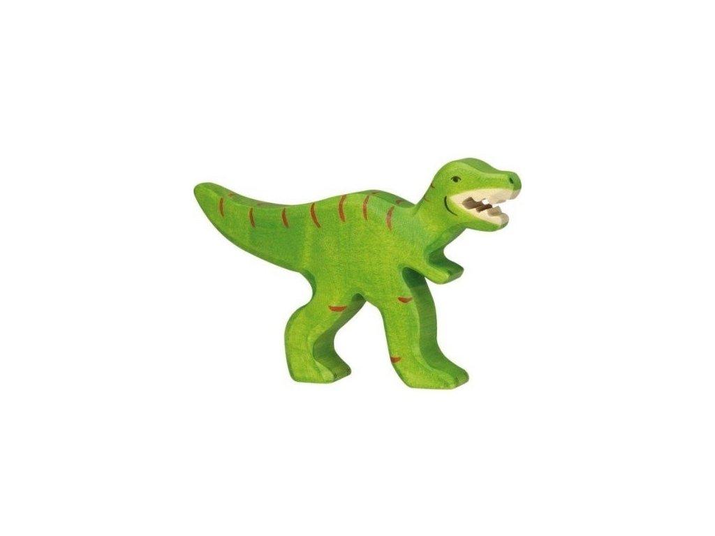 Tyrannosaurus Rex – dřevěná vyřezávaná hračka