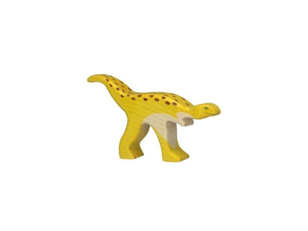 Staurikosaurus – dřevěná vyřezávaná hračka