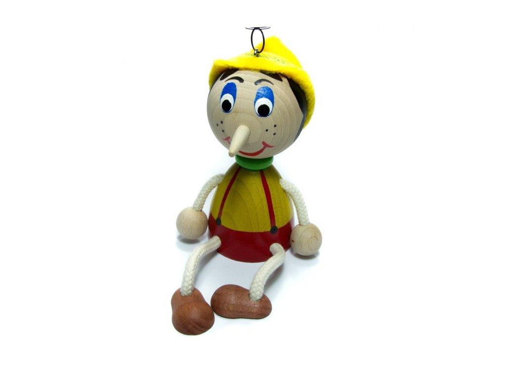 Pinocchio na pružině - větší
