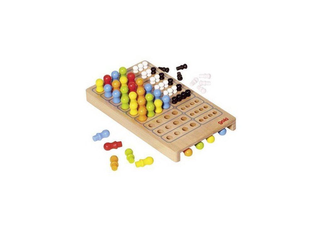 Logická hra Logik ze dřeva