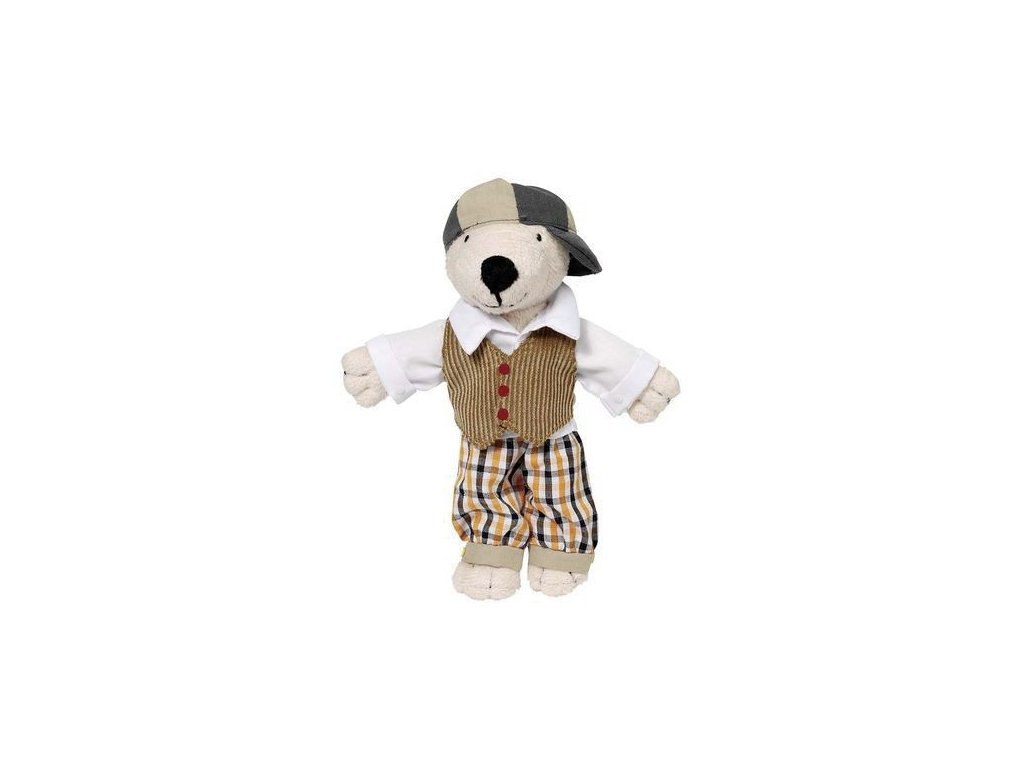 Látkový medvídek Tinba s oblečky