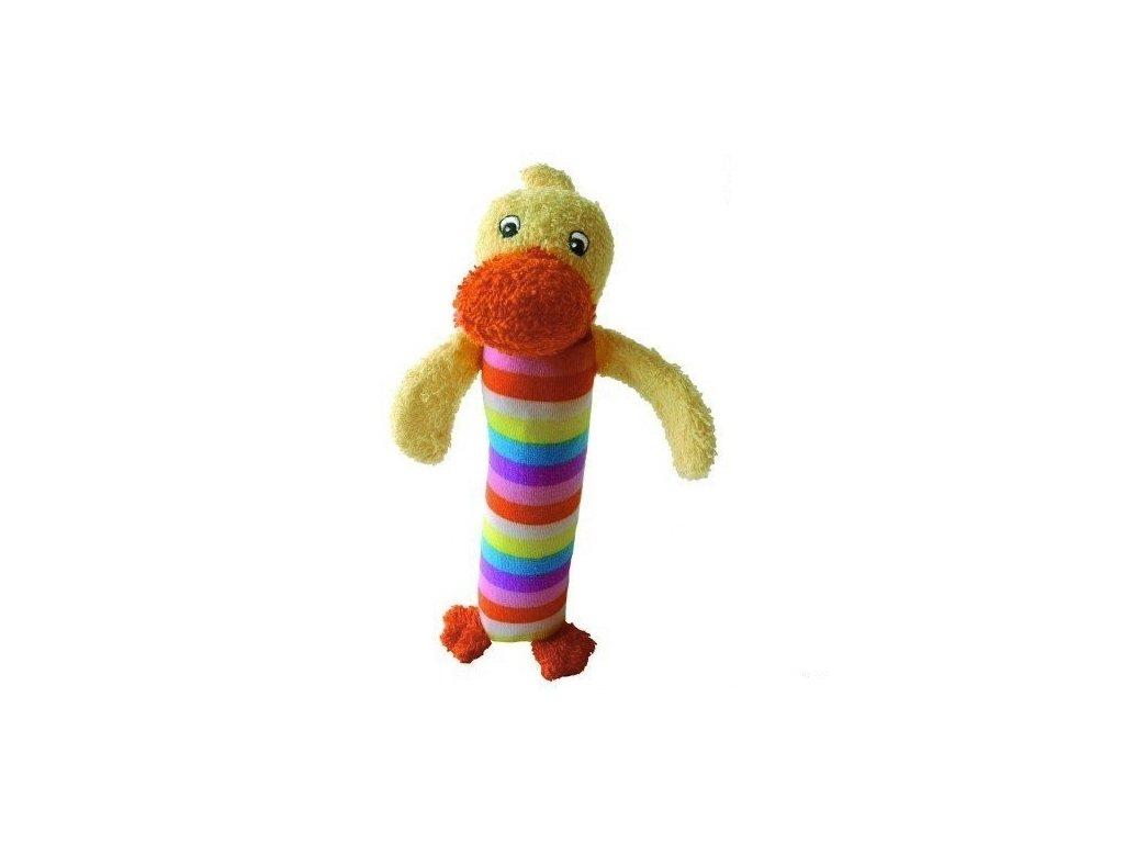 Pískací hračka do ruky kačenka