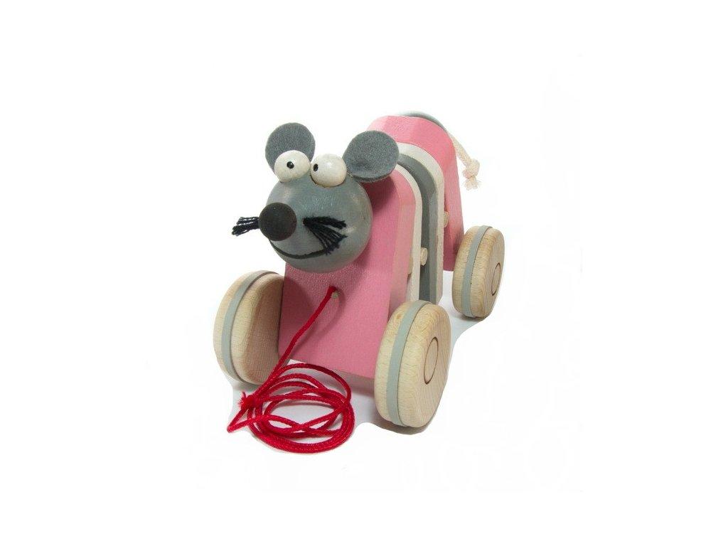 Tahací myška - klapací