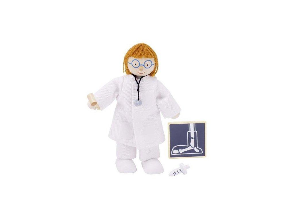 Panenka do domečku nemocnice – lékař